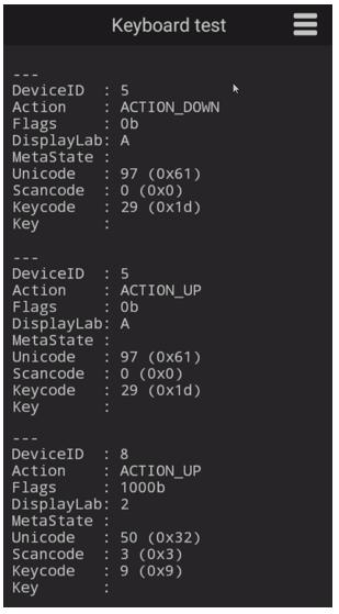 Hardware keyboard info at TellNext (Annex) | TellNext